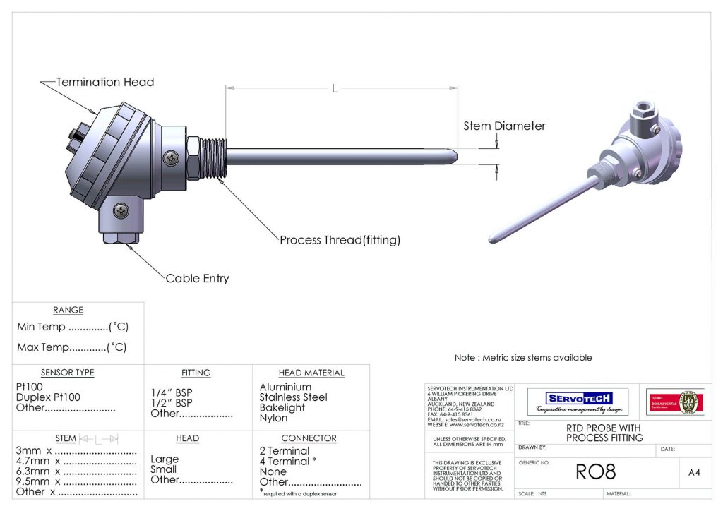 R08 WITH PROCESS FITTING