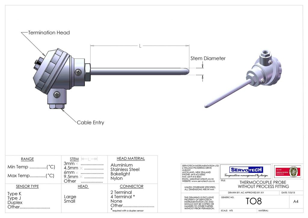 T08 WITHOUT PROCESS FITTING